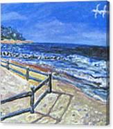 Old Silver Beach Canvas Print