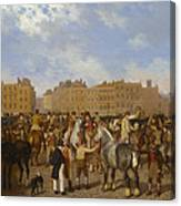 Old Smithfield Market Canvas Print