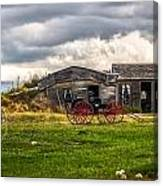 Old Sod Home Canvas Print