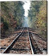 Old Southern Tracks Canvas Print