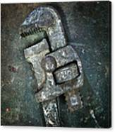 Old Spanner Canvas Print