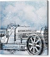 Old Sport Car Canvas Print