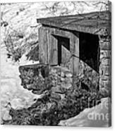 Old Spring House Canvas Print