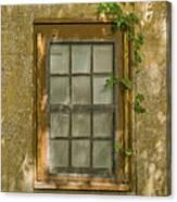 Old St Augustine Window Canvas Print