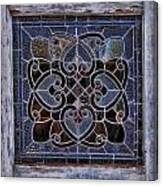 Old Stain Glass Window Canvas Print
