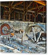 Old Stamp Mill In Berlin Nv Canvas Print
