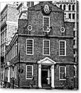 Old State House In Boston Canvas Print