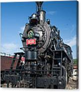 Old Steam Engine Canvas Print