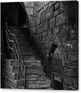 Old Steps In Chester England Canvas Print