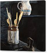 Old Still Life Canvas Print