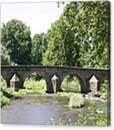 Old Stone Arch Bridge Canvas Print