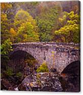 Old Stone Bridge. Scotland Canvas Print