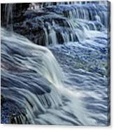 Old Stone Fort Waterfall Canvas Print