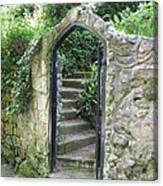 Old Stone Gate Canvas Print