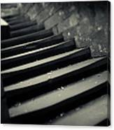 Old Stone Stairway Canvas Print