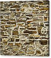 Old Stone Wall Canvas Print
