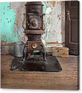 Old Stove Canvas Print