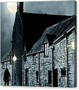 Old Street In England Canvas Print