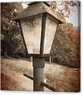 Old Street Lamp Canvas Print