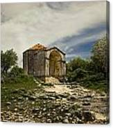 Old Temple Canvas Print
