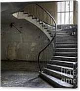 Old Theater Stairs Canvas Print