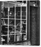 Old Time Barber Shop Canvas Print