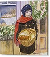 Old Time Christmas Canvas Print