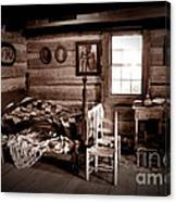 Old-time Living Canvas Print
