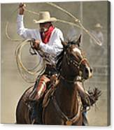 Old Time Ranch Rodeo Canvas Print
