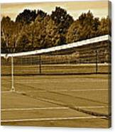 Old Time Tennis Canvas Print