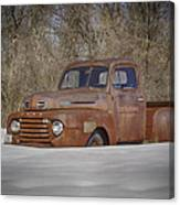 Old Timer In Color Canvas Print