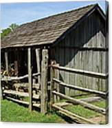Old Tobacco Shed Canvas Print