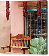 Old Town Albuquerque Shop Window Canvas Print