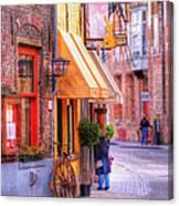 Old Town Bruges Belgium Canvas Print