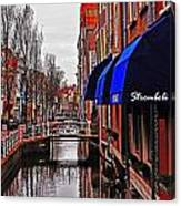 Old Town Delft Canvas Print
