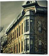 Old Town Fort Collins Canvas Print