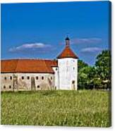 Old Town Fortress In Durdevac Croatia Canvas Print