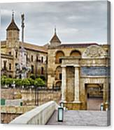 Old Town Of Cordoba In Spain Canvas Print