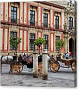 Old Town Of Seville In Spain Canvas Print