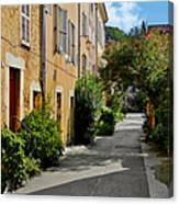 Old Town Of Valbonne France  Canvas Print