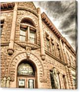 Old Town Sandstone Canvas Print