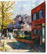 Old Town Sedona Canvas Print