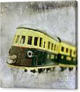 Old Toy-train Canvas Print