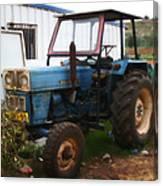 Old Tractor I Canvas Print