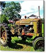 Old Tractor  Canvas Print