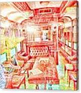 Old Train 2 Canvas Print