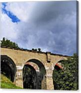 Old Train Viaduct In Poland Canvas Print