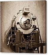 Old Trains Canvas Print
