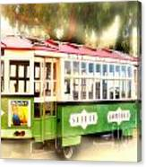 Old Trolley Canvas Print