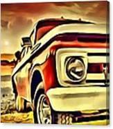 Old Truck Art Canvas Print